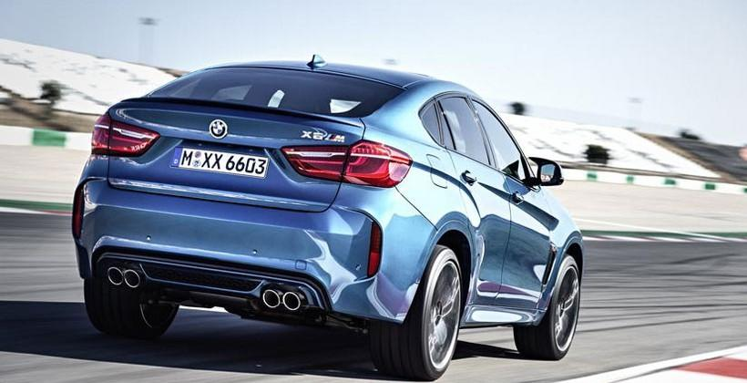 2015 BMW X5 M and X6 M reach 60mph in 4.0 seconds
