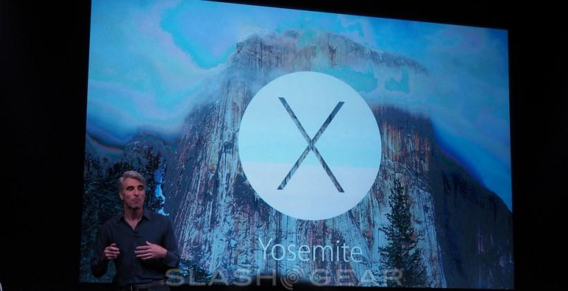 Yosemite is out… but you might struggle to get it