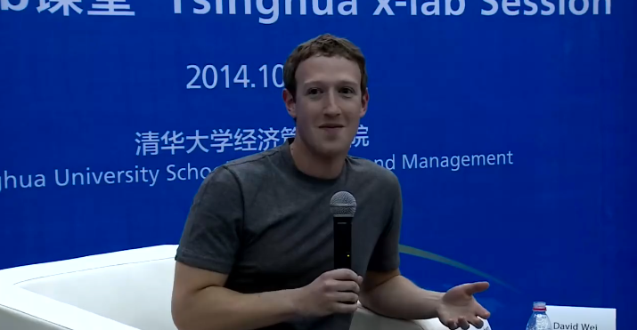 Mark Zuckerberg is charming China in Mandarin