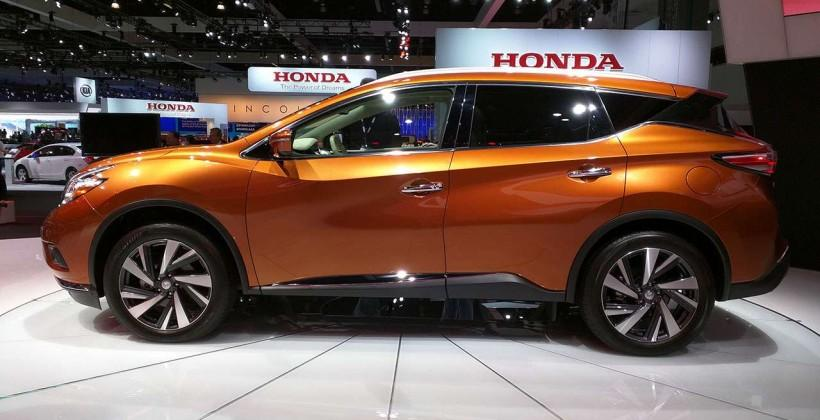 2015 Nissan Murano eyes-on