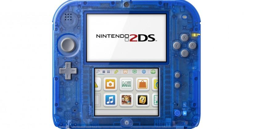Nintendo 2DS goes crystal for retro-styled specials