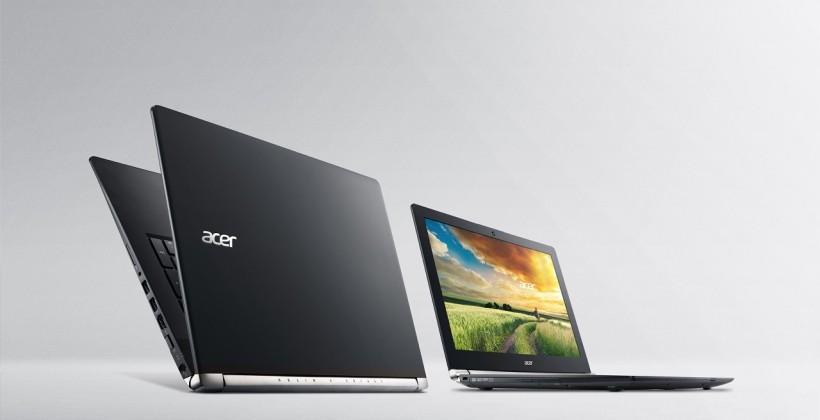 Acer V Nitro Black Series laptops gain 4K option