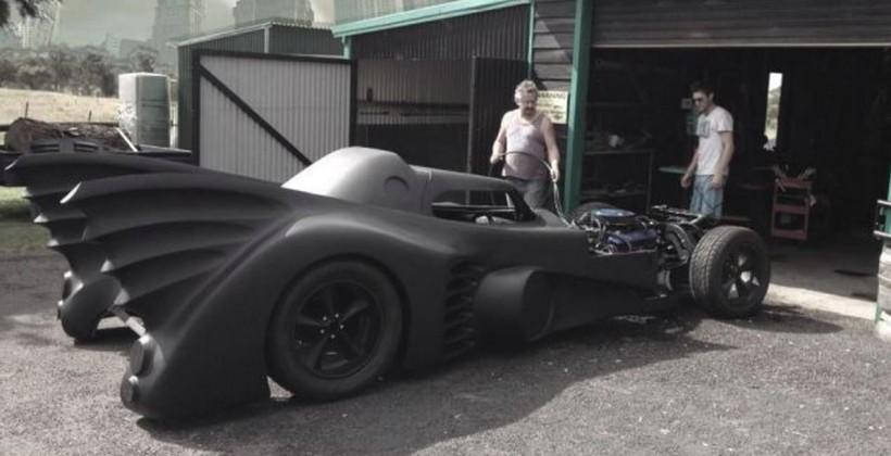 1989 Batmobile replica is functional and street-legal