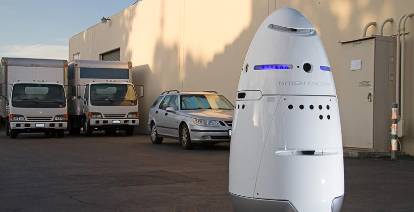 Meet the Dalek-looking security robot from Knightscope