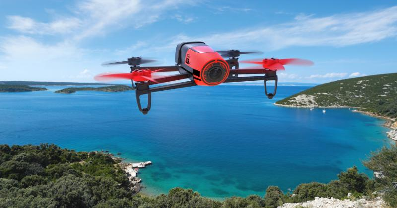 Parrot's Bebop Drone finally takes to the skies