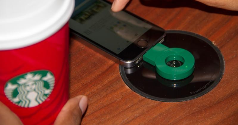 Starbucks wireless charging begins nationwide expansion