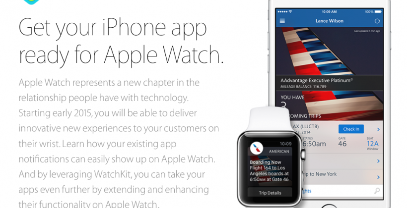 Apple Watch is coming: iOS 8.2 & Xcode 6.2 betas out