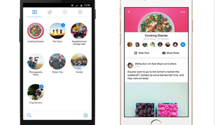 Facebook rolls out Groups, brings another app to your screen