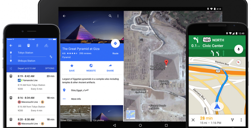 Google Maps updated for iPhone, Android with reservations and Uber
