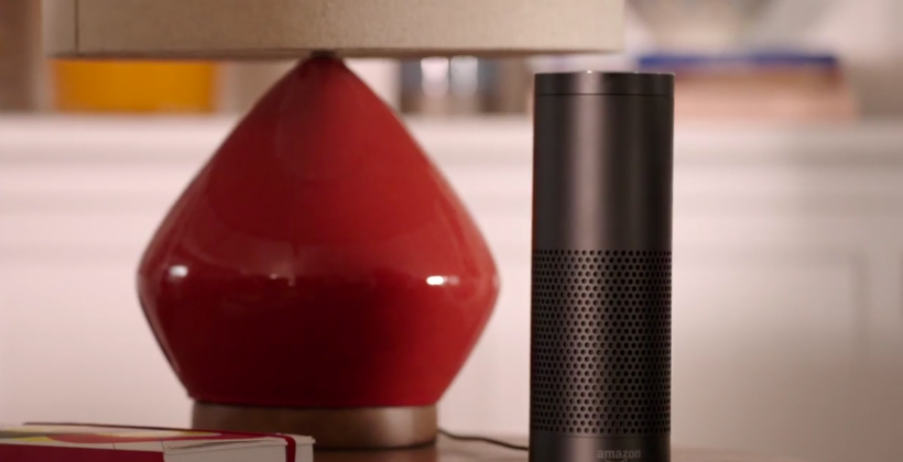 Amazon Echo puts Siri-style smarts in a column of cloud