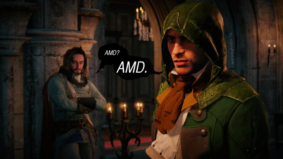 Assassin S Creed Unity Issues Ubisoft Blames Amd Update Ubisoft Recants Slashgear