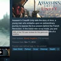 Ubisoft comments on Assassins Creed Unity PC troubles