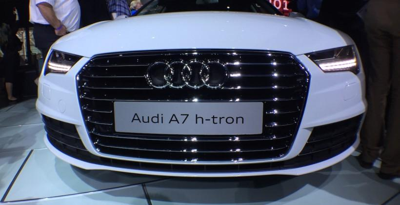 Audi A7 h-tron flirts with performance fuel-cells