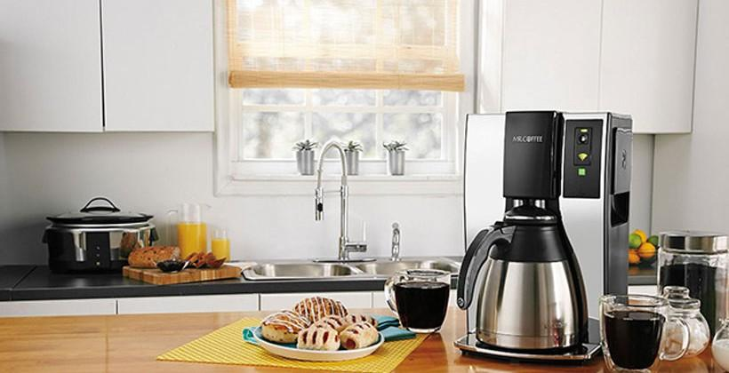 Belkin and Mr. Coffee create WiFi enabled coffee pot