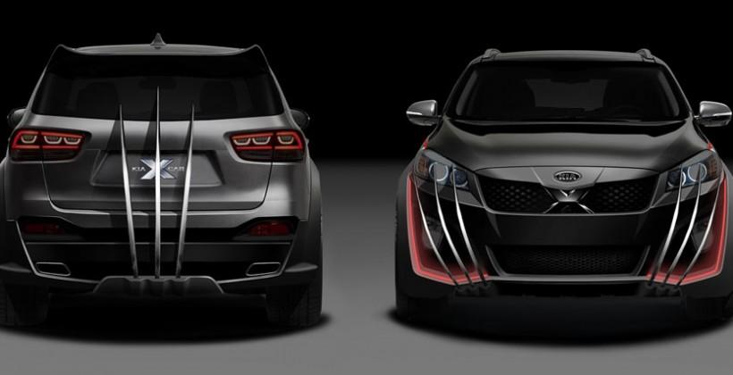 Kia channels its inner mutant with X-Men-themed Sorento