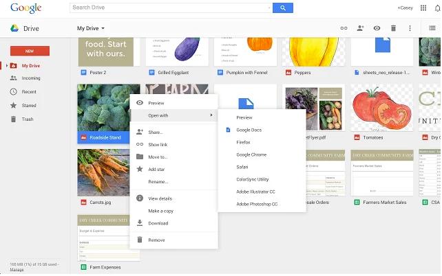 Chrome's new Google Drive extension blurs the cloud