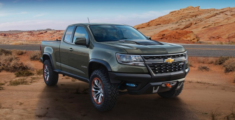 Chevrolet Colorado ZR2 concept showcased at LA Auto Show