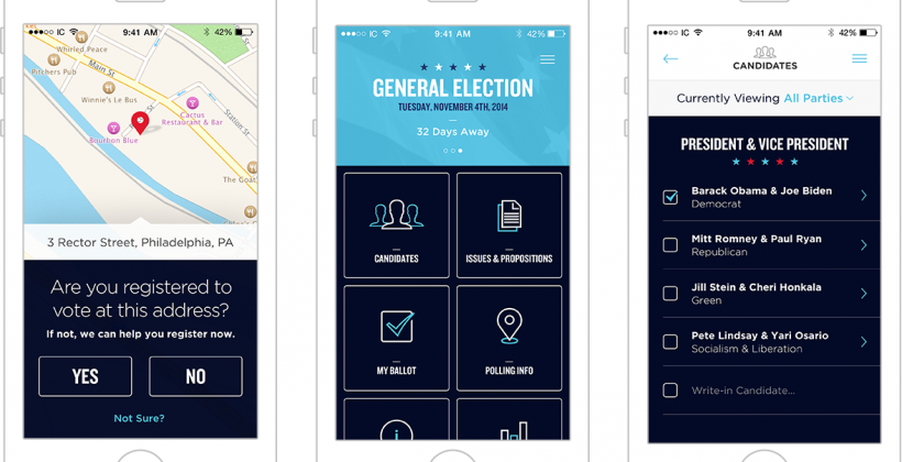 Concept app Intuitive Voting wants you to vote from your phone