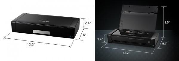 Epson WorkForce WF-100 printer: small, light, and wireless