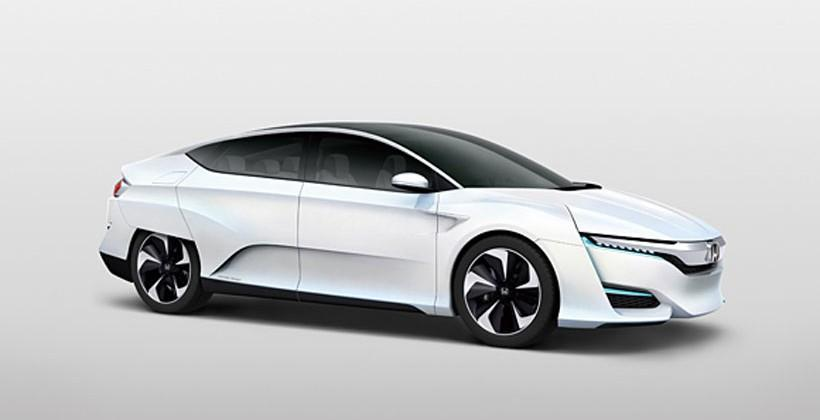 FCV Concept fuel cell vehicle unveiled by Honda