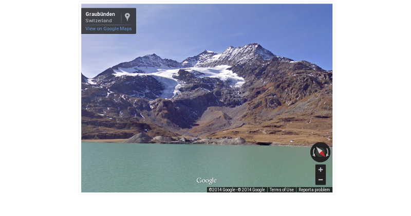 You can now add Photospheres, Street View to your website