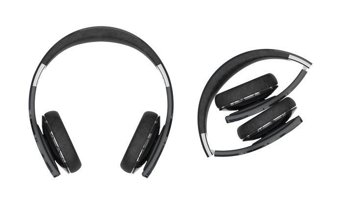 Helios Bluetooth headphones use solar power to juice up