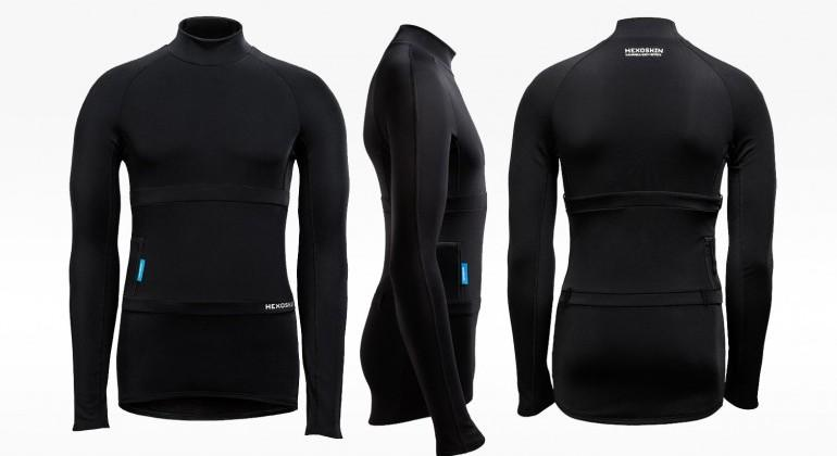 Hexoskin Arctic biometric smart shirt offers winter upgrade