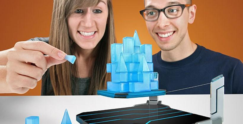 Hoverkraft Levitating Construction Challenge builds floating castles