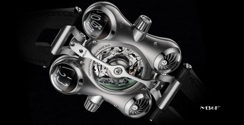 HM6 Space Pirate watch designed to look like Captain Future's ship