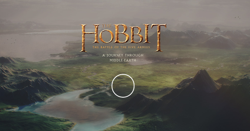 Duke it out on Middle-Earth via a Chrome Experiement