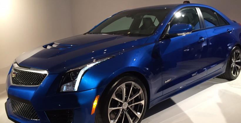 Cadillac's 2015 ATS-V wants to kill BMW's M3/M4
