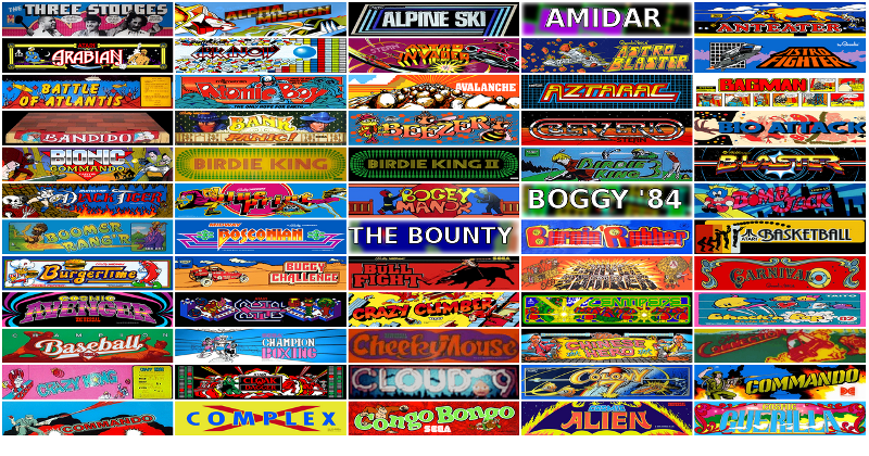 Internet Arcade puts 900 old-school games in your browser