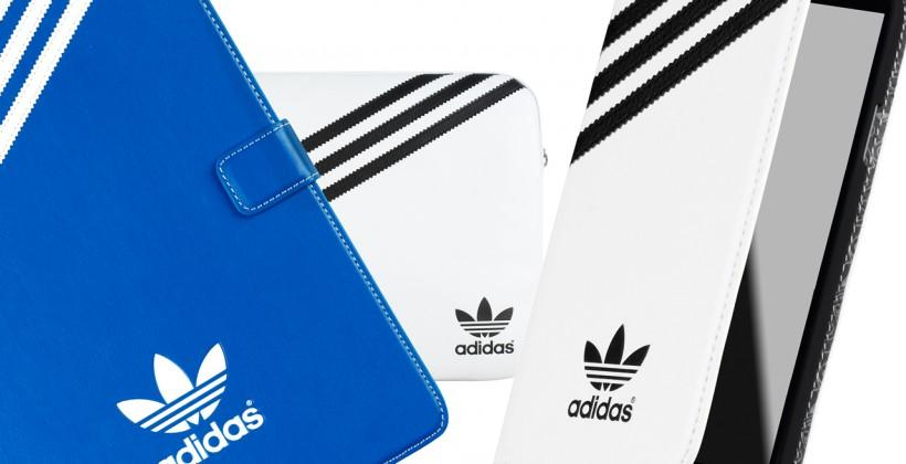 Adidas accessories revealed for smartphones, tablets, laptops