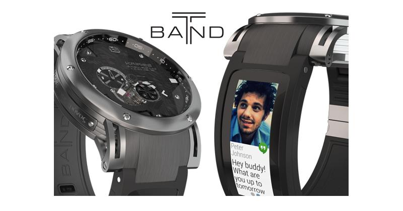 Kairos T-band marries analog and smartwatch differently