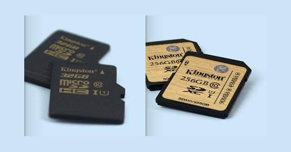Kingston outs new high speed, high capacity memory cards