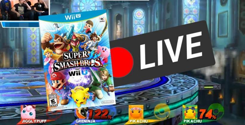 Super Smash Bros Wii U debut: watch real gameplay now