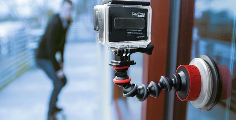 Joby targets action cams with new bendable suction cup mounts
