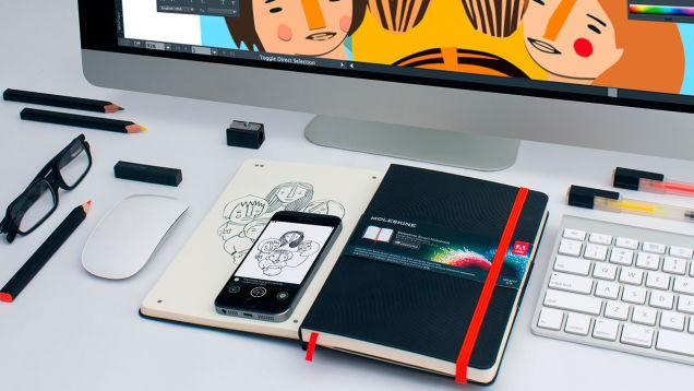 Moleskine partners with Adobe to digitize sketches