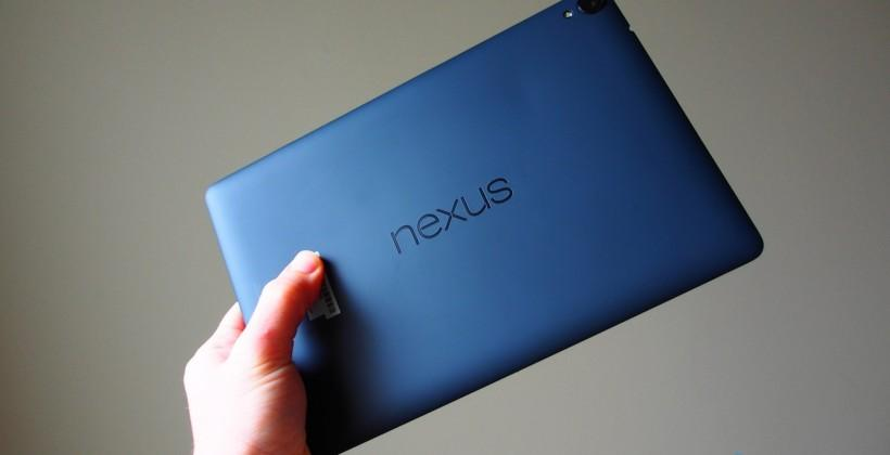 Nexus 9 hits digital shelves in several configurations