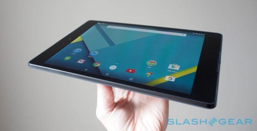 This is the Nexus 9, Android Lollipop's tablet vanguard