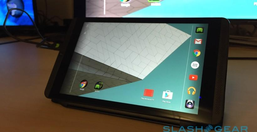 NVIDIA's SHIELD Tablet Lollipop update dated