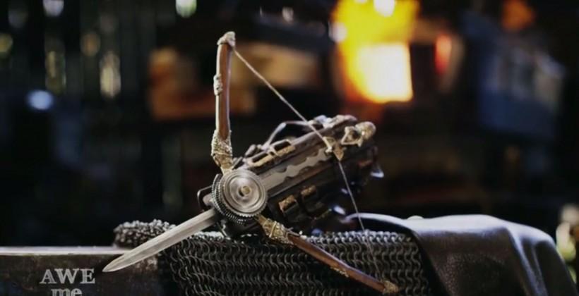 Assassin's Creed Phantom Blade replica transformed into real weapon