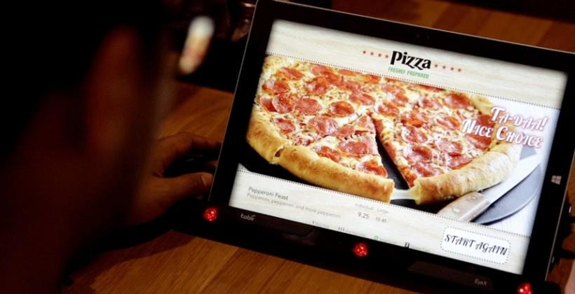 Pizza Hut testing eye-tracking menu that knows the toppings you want