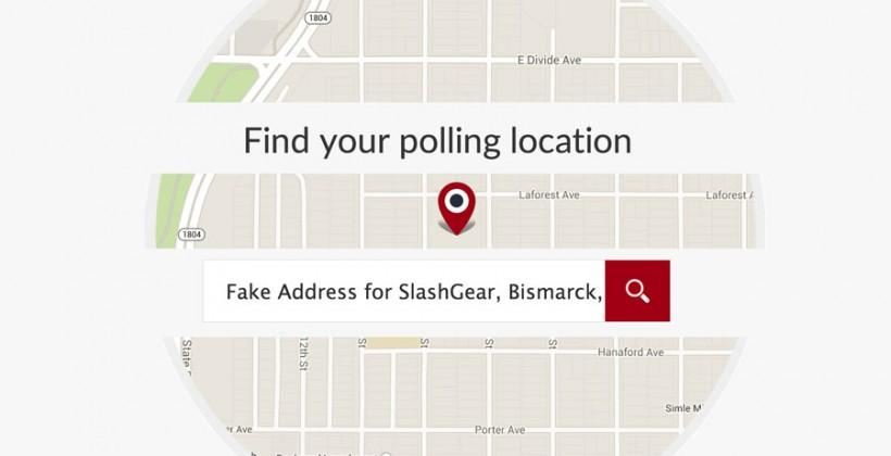 Google voting push helps you find your polling location
