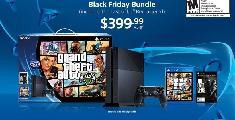 PS4 Black Friday Bundles: GTA V and LEGO Batman 3