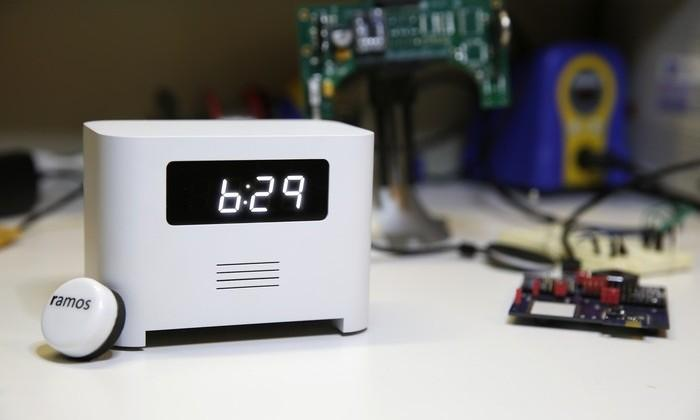 Ramos alarm clock forces you to wake up with portable beacon
