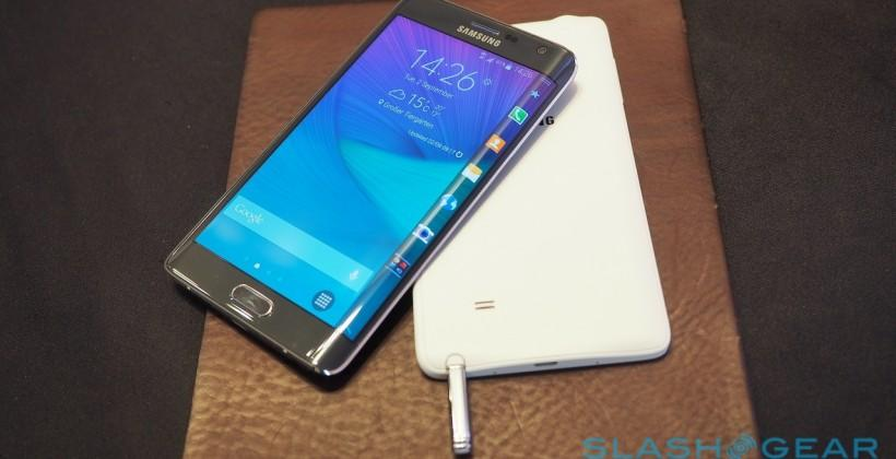 Samsung's futuristic Galaxy Note Edge on show in US November 7th