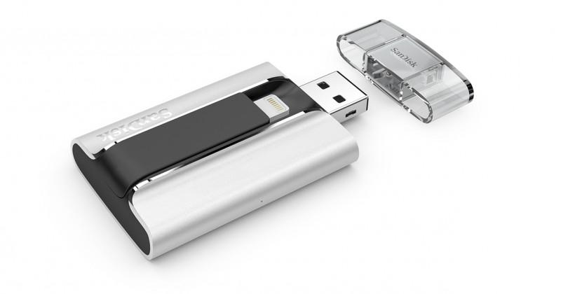 SanDisk iXpand Flash Drive made for iPhone and iPad