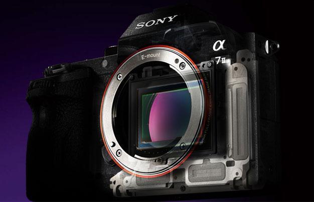 Sony A7 II boasts 5-axis in-body stabilization