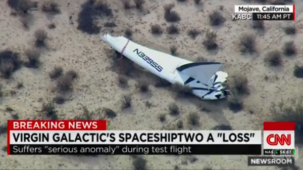 """Virgin Galactic's Branson vows """"the dream lives on"""""""